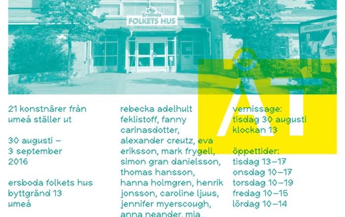 Konst åt alla-utställning i Ersboda invigd