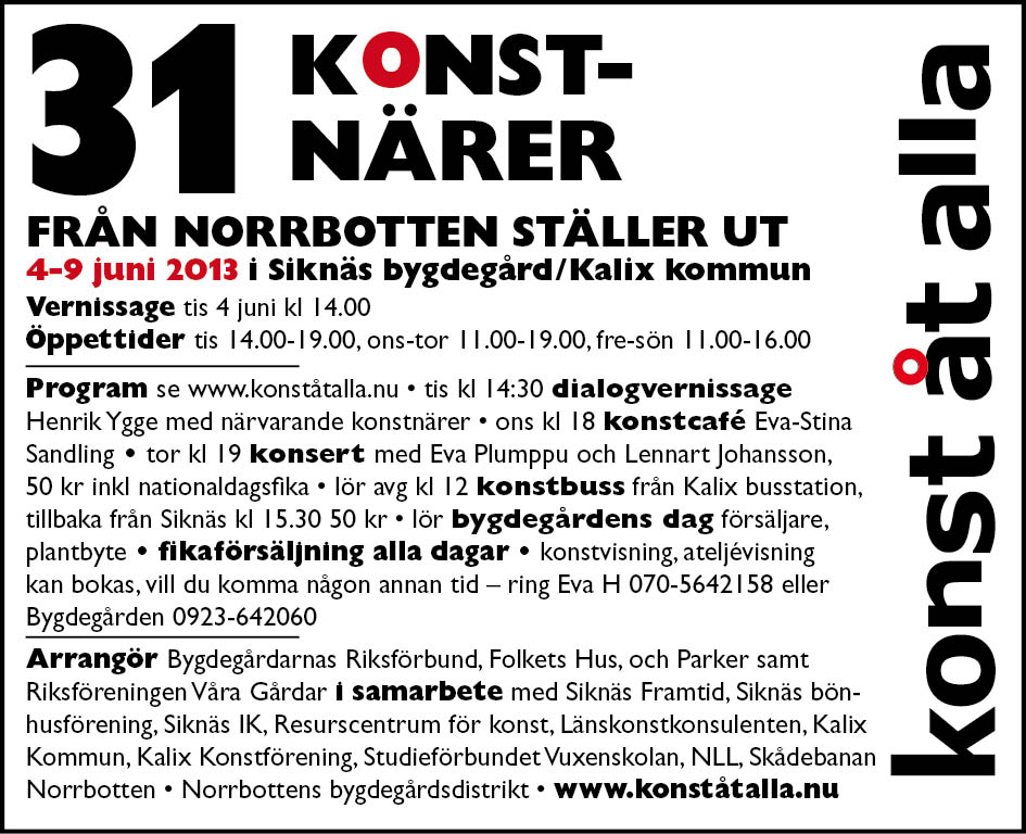 annons KoA 4 juni 2013