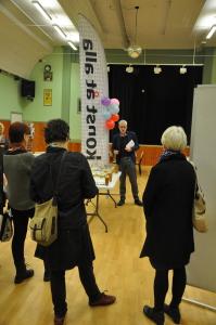 Konst åt alla invigs i Reginalokalen i Backaryd